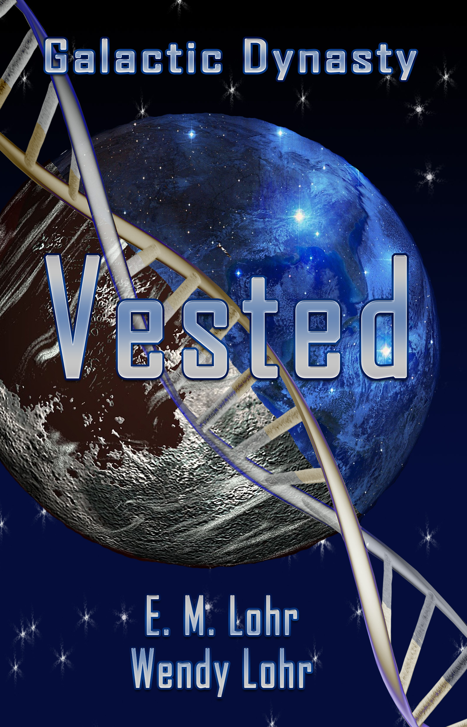 book cover for Vested